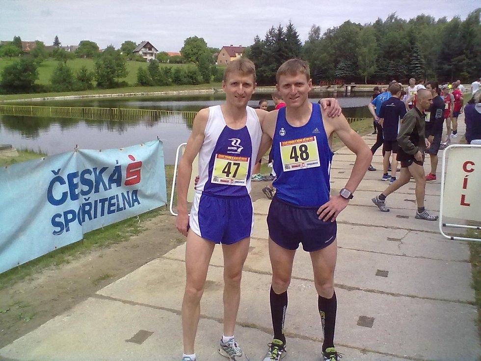 Martin (vlevo) a Pavel Frelichové