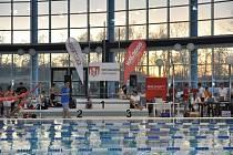 Celostátní závody žactva uspořádalo občanské sdružení Plavání České Budějovice