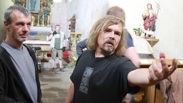 Petr Vachler natáčí svůj nový film na jihu Čech.