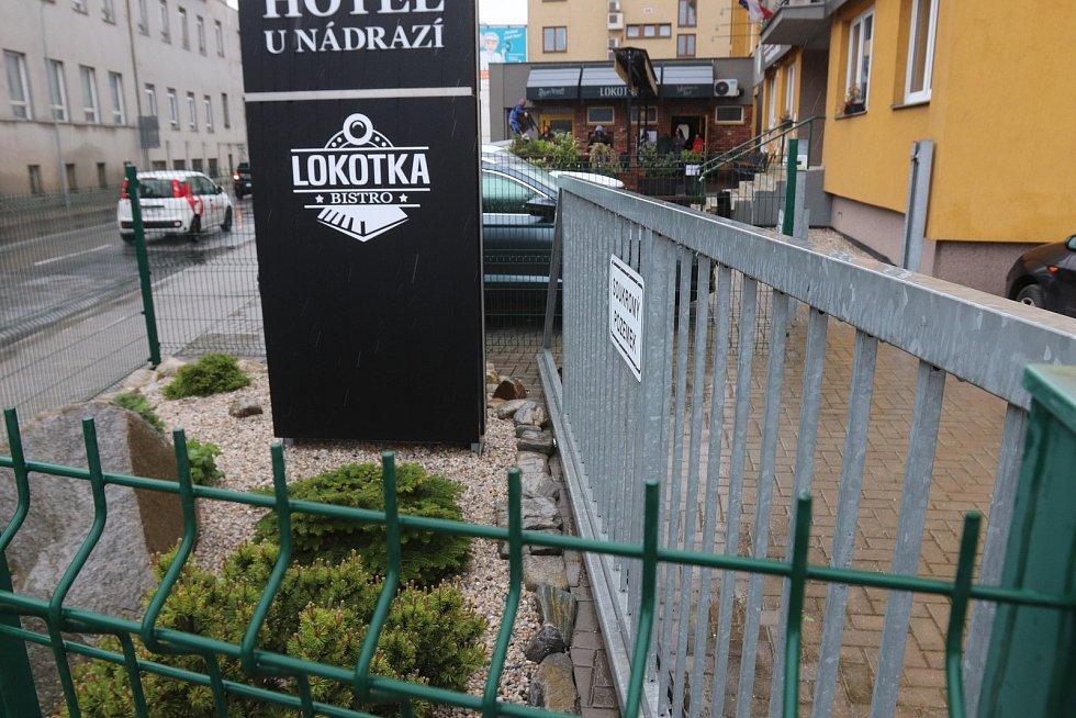 Bistro Lokotka v českobudějovické Dvořákově ulici.