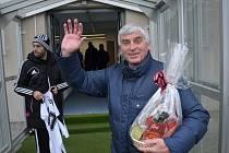 Bývalý kanonýr fotbalistů Dynama Ladislav Novák slaví ve čtvrtek 75. narozeniny.