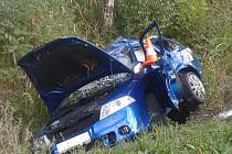 Dva lidé zahynuli při nehodě u Zubčic.