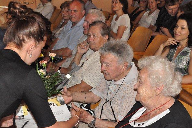 Ladislav Janouch při loňské prezentaci projektu Příběhy našich sousedů vTáboře.