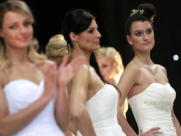 První svatební veletrh se konal 28. ledna na českobudějovickém výstavišti.