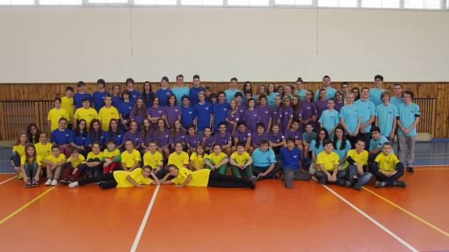 Žáci Základní školy O. Nedbala v Č. Budějovicích
