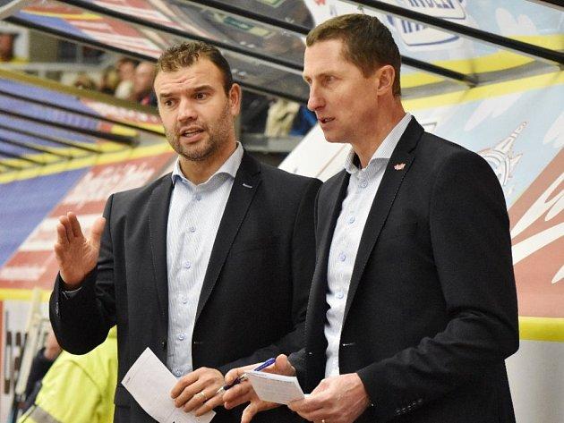 Antonín Stavjaňa a (vpravo) a Martin Štrba.