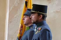 V sobotu se v Lišově uskutečnil pietní akt u hrobu lišovského rodáka polního zbrojmistra Ludvíka Pávka.