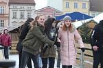 Na budějovickém náměstí se bruslí od 1. prosince.