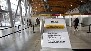V Českých Budějovicích se bude od čtvrtka 21.1.2021 očkovat na výstavišti