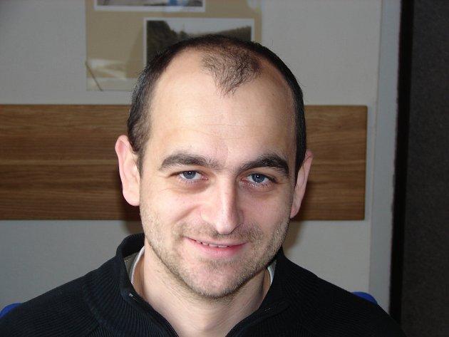 Hydrolog Tomáš Vlasák pracuje včeskobudějovické pobočce Českého hydrometeorologického ústavu.