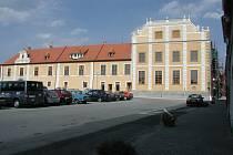 Buquoyská rezidence vNových Hradech.