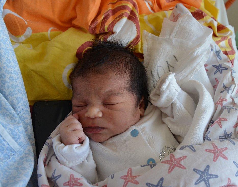 Martin Oláh z Písku. Prvorozený syn Juliany Oláhové a Martina Mižikára se narodil 5. 12. 2020 v 9.43 hodin. Při narození vážil 3300 g a měřil 49 cm.