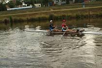 Zajímavostí letošního ročníku byla účast veslařské posádky na dvojskifu Radek Smékal a Martin Salač z Českých Budějovic