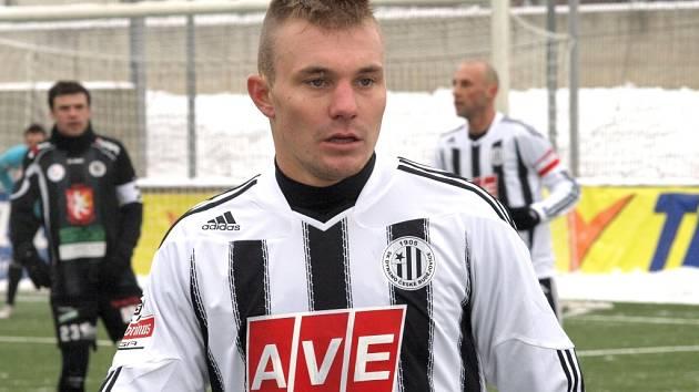 Jakub Hora si proti Hradci odbyl v Dynamu svůj debut.