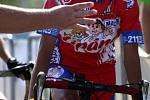 Mistrovství republiky mládeže v silniční cyklistice začalo 30. července v Českých Budějovicích časovkou jednotlivců.