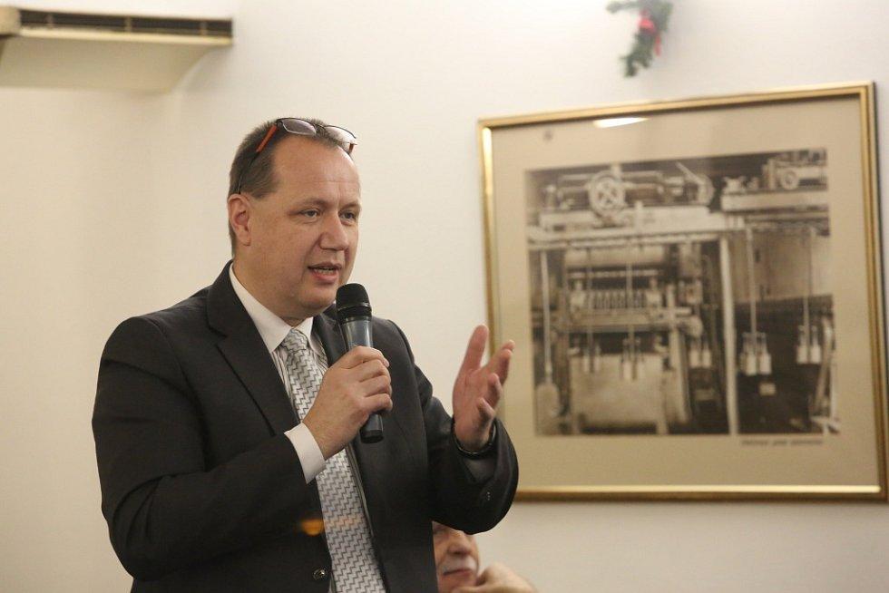 O nedostatku zdravotních sester debatoval s hejtmanem Jiří Holan, ředitel Nemocnice Písek.