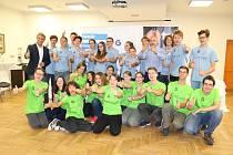 První běh jihočeské Talent Akademie se uskutečnil vloni v září, na snímku jsou účastníci akce.