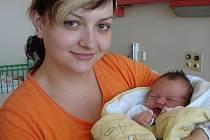 Nikolas Urban, České Budějovice, 14. 8. 2008 ve 14.10 h, 3,32 kg