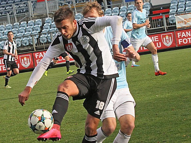 Milan Jurdík v zápase Dynama s Vyšehradem (2:0) odvedl dobrý výkon.