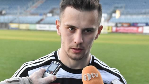 Jakub Pešek po zápase s Varnsdorfem odpovídá na dotazy Deníku.