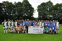Fotbalová exhibice Pomáháme fotbalem přinesla dětem 55 tisíc korun