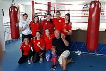 České reprezentantky v boxu zakončí v pátek týdenní  soustředění v českobudějovické Box aréně Box Clubu Táty Němce.