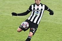 Matěj Valenta odvedl proti Bohemians dobrý výkon.