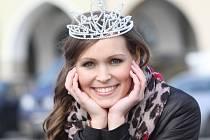 Miss Jihočeské univerzity 2014 Veronika Stýskalová.