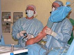 Operace ramene novou technologií.