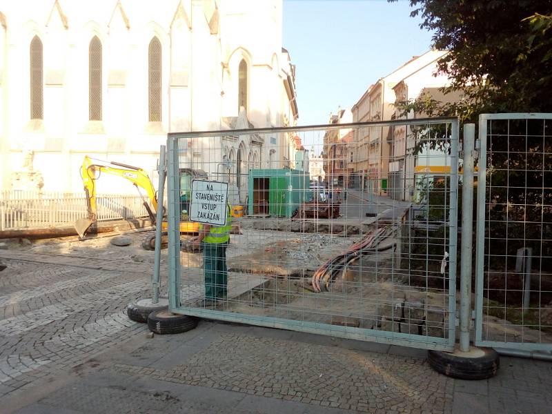Oprava mostu v ulici Karla VI. v Českých Budějovicích znamená uzavírku plánovanou od července do listopadu 2021.