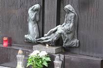 Táborský hřbitov a krematorium.