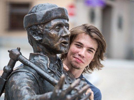 Tomáš Binter (21) získal v juniorské kategorii cenu Czech Press Photo za fotoreportáž z Vatikánu.