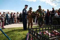 Letošní oslavy konce druhé světové války 7. května u památníku setkání pěti armád u Vitějovic.