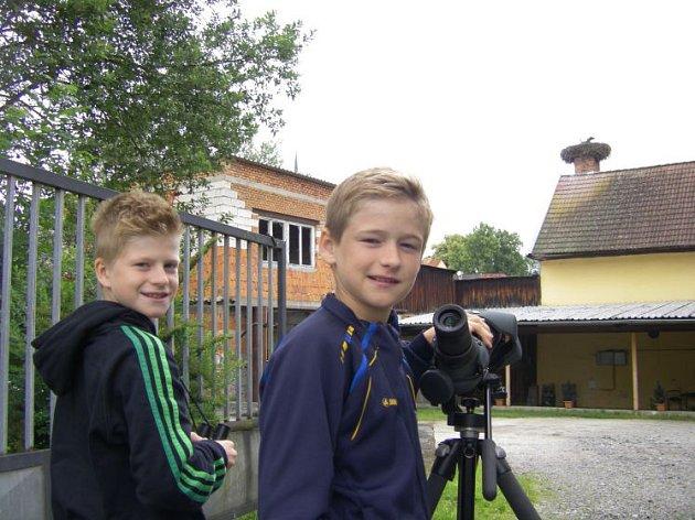 Bratři Vierlingerovi sčítají čápy v Česku.