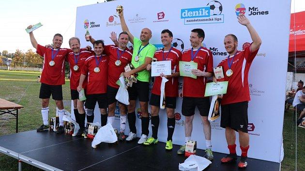 Zaměstnanecká fotbalová liga Deníku v Českých Budějovicích