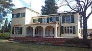 Slavná prezidentská vila v Sezimově Ústí se otevřela na 84 dní  roce.