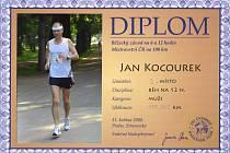 Jihočech Jan Kocourek zaběhl extrémně náročný závod. Zvládl v Praze dvanáct hodin.