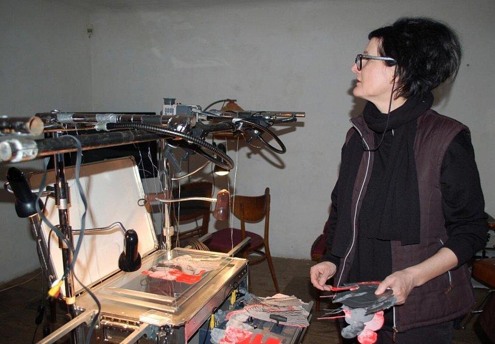 Rakouská výtvarnice Bernadette Huber vyrábí v krumlovském Egon Schiele Art Centru film o Schielem. Zásadně jí pomohl vynález Romana Týce ze Ztohoven. Film bude součástí výstavy ke 120. výročí narození Schieleho, jež začne 16. dubna.