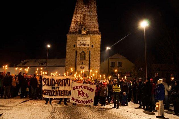 Mladí proti xenofobii.