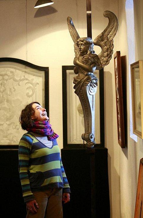 Volyňské muzeum představuje na nové výstavě přírůstky za poslední dva roky. Jsou mezi nimi například části pohřebních vozů z přelomu 19. a 20. století.