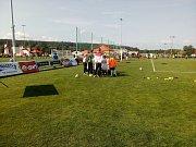 Fotbalový E.ON Cup v Roudném u Českých Budějovic