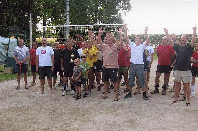 Nejstarší volejbalový turnaj v Kališti u Lipí