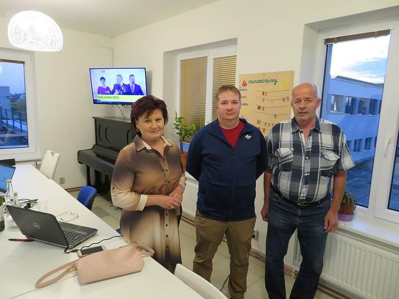 Jihočeští zástupci KSČM se tradičně setkali v prostorách firmy Inpress v Českých Budějovicích.