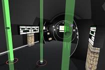 Tak bude vypadat sál v Muzeu vltavínů.