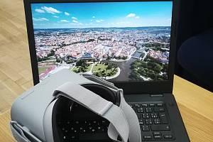 Ukázka snímku z nové unikátní prohlídky i 3D brýlí.