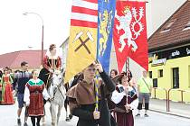 Rudolfovští uspořádali své hornické slavnosti letos po dvacáté.