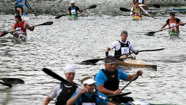 Vodácký maraton.