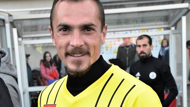 Peter Grajciar v zápase se Sokolovem svým gólem rozhodl o výhře Dynama.