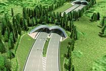 Silnici mezi sídlišti Máj a Vltava by měly v budoucnu doplnit i zelené pásy, které by ji překrývaly na několika místech.