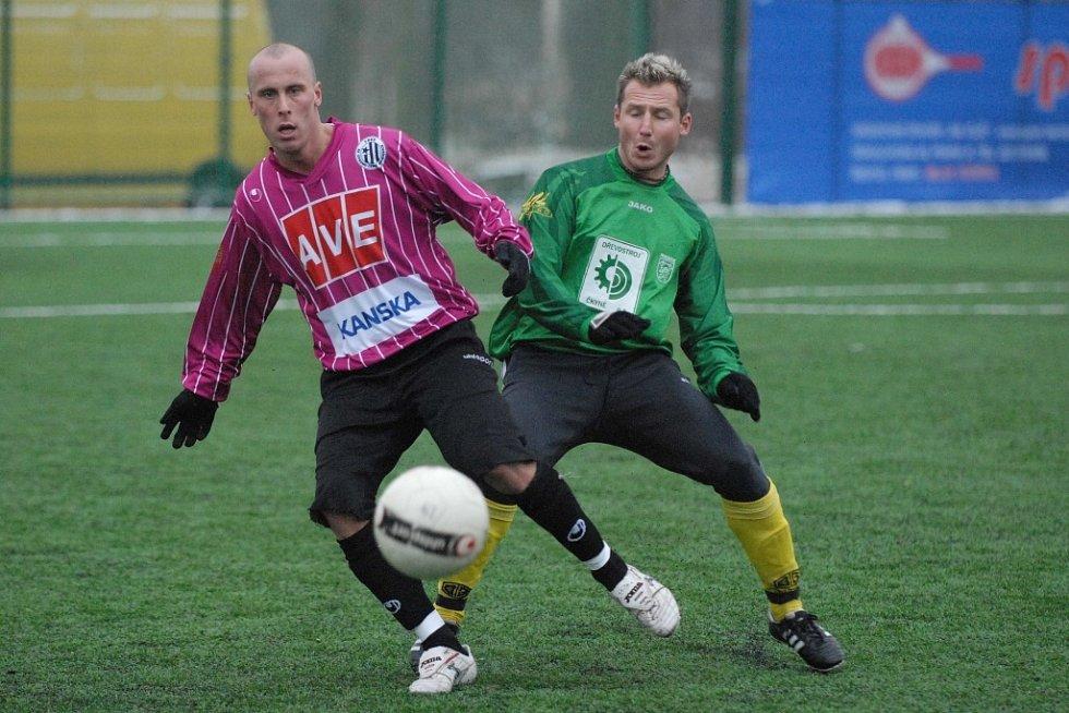 Poprvé po svém návratu do Dynama se v zápase proti Prachaticím v budějovickém mužstvu představil útočník Ivo Táborský .